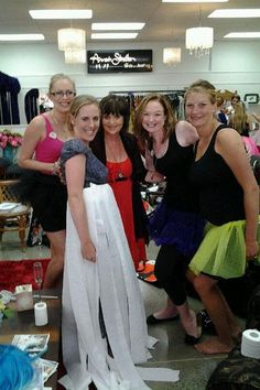 Our fabulous Kerry entertaining a Hen's party at our Tauranga store! Hen Party Games, Dress Out, Bachelorette Parties, Successful Women, Prom Dresses, Formal Dresses, Toilet, Events, Entertaining