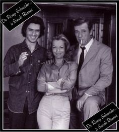 Sami Frey,Romy Schneider et Michel Piccoli -César et Rosalie