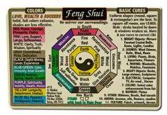 Feng Shui Wallet Cards