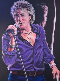 Rod Stewart - Passion For Sale £1800