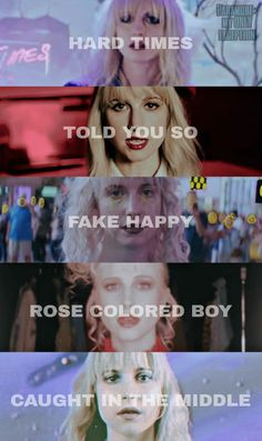For everything Paramore check out Iomoio Emo Bands, Music Bands, Rock Bands, Hayley Paramore, Paramore Hayley Williams, Music Is Life, Kinds Of Music, Divas, Mayday Parade Lyrics