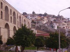 OLD AQUEDUCT - Kavala, Greece Macedonia, Greek Islands, Planet Earth, Places Ive Been, Gate, Scrapbooking, Lost, Europe, Mansions