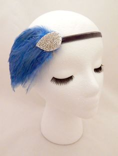 The Elsie - light blue Great Gatsby from Shoreland Chic