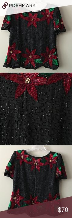Vintage SCALA 100% silk size small Vintage SCALA 100% silk size small Vintage Tops Blouses