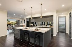 Tallavera - Two Storey Executive Style Home - Kitchen | McDonald Jones Homes…