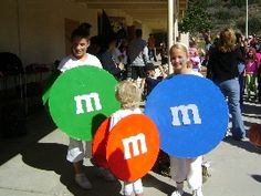 M&Ms costume