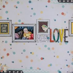 Ida Rosberg - Love. - Love the frames. I'm sure I have this paper. Would love to use it like this.