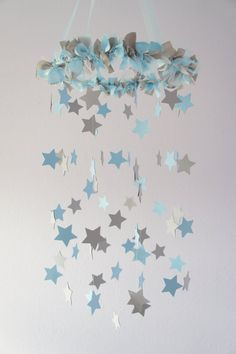 Nursery Mobile Stars in by LoveBugLullabies #nursery