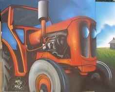 #tractor #graffiti