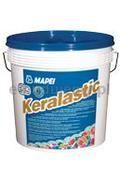 Keralastic Wysokowydajny, dwuskładnikowy klej poliuretanowy do płytek ceramicznych i kamienia naturalnego. Zastosowanie Wodoszczelny klej, który przy odpowiedniej aplikacji może również spełniać funkcję hydroizolacji, przeznaczony do montażu płytek ceramicznych, mozaiki szklanej i ceramicznej oraz kamienia naturalnego na każdym typie podłoża używanym w budownictwie. Do stosowania na zewnątrz i wewnątrz budynków na posadzkach, ścianach i sufitach. Szczególnie zalecany do klejenia płytek na podło…