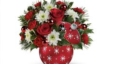 Teleflora's Homemade for the Holidays line features keepsake containers, and we're giving away six bouquets.