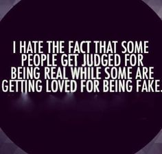 I do, but at least I'm not the one who's fake. True colors will reveal themselves eventually. That's why I don't associate with an in-law of mine. I confront them and 3 months later I find they were lying. #fakeinsideandout