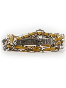 Chain Of Believe Candy Bracelet