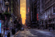 city street cityscape night urban building road photography skyscraper evening New York City traffic town metropolis infrastructure pedestrian downtown alley lighting lane urban area metropolitan area human settlement neighbourhood New York Night, Cartoon Wallpaper Hd, New York Art, Traditional Landscape, New York Street, Beautiful Places To Visit, Belle Photo, The Great Outdoors, Cool Pictures