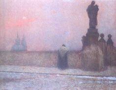 Un amateur de peinture étranger ne manquera certainement pas la visite de la Galerie nationale de Prague. Son regard se posera certainement sur l'image d'un cheval fatigué traînant une charrette. Dessus, un cercueil avec une couronne mortuaire en simples fleurs des champs, appuyée sur le côté. Une paysanne à la tête tristement baissée est assise à l'arrière. L'unique escorte de l'attelage funèbre est…