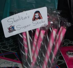 Monster High Birthday Party Ideas | Photo 14 of 40 | Catch My Party