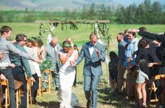 Outdoor Ranch Wedding