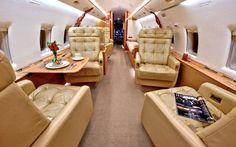 Bombardier Challenger 604 Interior Executive Jet, Private Jet Interior, Private Flights, Contemporary Cabin, Used Aircraft, Aircraft Interiors, Private Jets, Rich Girl, Flight Attendant