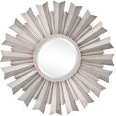 Found it at Wayfair - Dylan Mirror in Distressed Silver