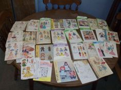 Vintage Pattern Lot of 41 Cabbage Patch McCalls s Butterick Baby Dress Dolls