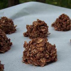 Chocolate No Bake Cookies Recipe - Use gluten free certified oats