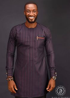 Latest African native wears for men - DarlingNaija Latest African Wear For Men, African Shirts For Men, African Dresses Men, African Attire For Men, African Clothing For Men, Latest African Fashion Dresses, Traditional African Clothing, Ankara Fashion, African Women