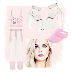 """pinkie"" by blahblahrafa ❤ liked on Polyvore featuring STELLA McCARTNEY and Jeffrey Campbell"