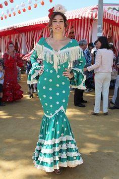Raquel Revuelta en la Feria de Abril