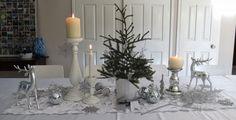 Idee tavola di natale 2016 bianca addobbi fai da te foto idee esempi video guide foto tavole natalizie belle originali consigli design decorazioni colori