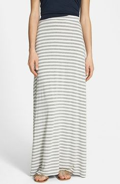 Vince Camuto 'Marina Stripe' Maxi Skirt available at #Nordstrom