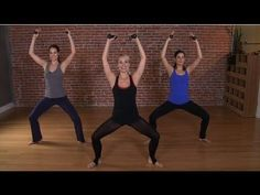 The Look Good Naked Barre Workout | Class FitSugar - YouTube