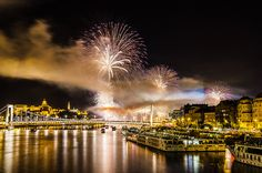 Fireworks 2014 - Budapest, Hungary