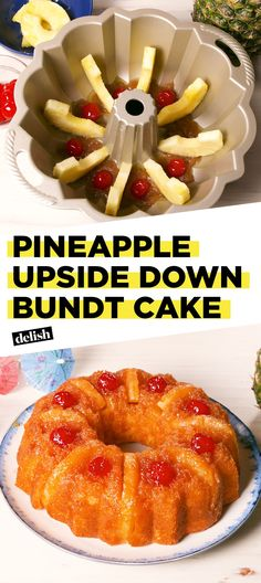 Pineapple Upside Down Bundt Cake Is The Next Best Thing To A Tropical VacaDelish
