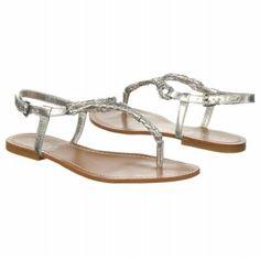 Women's LAUREN RALPH LAUREN Alexa Silver Metallic Shoes.com