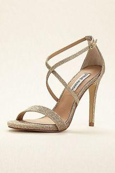 Steve Madden High Heel Strappy Sandal FELIZ #promshoesstrappy #strappysandalsheels #promheelsstrappy