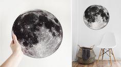 Od teraz księżyc zawsze będzie świecił w pełni!  #moon #luna #ksieżyc #skandynawski #stylskandynawski #scandinavianstyle #dekoracjedodomu #nasciane #dekoracje #wystrojwnetrz #polskidesign #wystrojdomu Fox Art, Scandinavian Style, Moon, Celestial, Studio, Outdoor, Design, The Moon, Outdoors