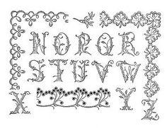 1902 embroidered alphabet   Flickr - Photo Sharing!