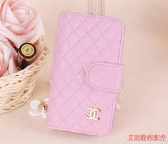 Chanel Phone Cases For Samsung Galaxy S3 | Pink Chanel Leather Wallet Case Belt Flip Cover For Samsung Galaxy S3 ...