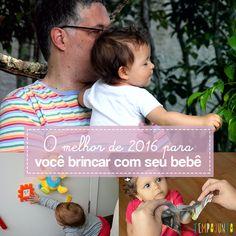 Brincar com seu bebê é uma des melhores coisas que você pode proporcionar a ele. Muitos pais desconhecem a valia do brincar desde o nascimento.
