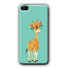 Goofy Giraffe With Sunglasses Cell Phone Case for Iphone and Galaxy Phone Case and Phone Covers.