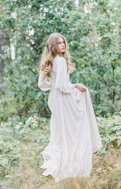 Handmade Silk Wedding Gown by CathyTelle on Etsy