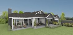 Karapiro 4 bedroom house design Landmark Homes builders NZ - MY FAV!!!
