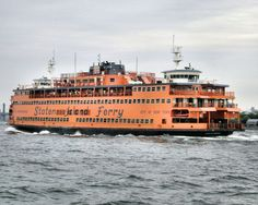 Take a free ride on the Staten Island Ferry Great Places, Places Ive Been, Staten Island Ferry, A New York Minute, Manhattan, New York Pictures, I Love Ny, Need A Vacation, Free Travel