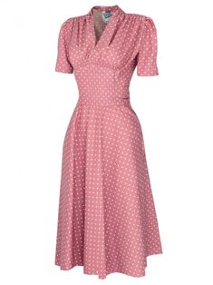 and Style Dresses from Vivien of Holloway Made in London Source by yvox Fashion dresses 1940s Fashion Women, 1950s Fashion Dresses, 1940s Dresses, Day Dresses, Modest Fashion, Retro Fashion, Vintage Fashion, Womens Fashion, Victorian Fashion