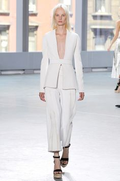 Culottes showed up at Proenza Schouler Spring 2014 Ready-to-Wear Collection Slideshow on Style.com