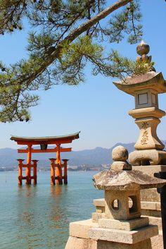 Torii Gate Miyajima Island (Explore)