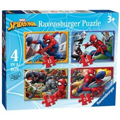 Ravensburger Spider-Man Jigsaw Puzzle Bumper Pack