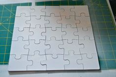 How to Make a Puzzle Card