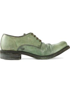Comprar A Diciannoveventitre 'Cavallo' distressed derby shoes en Suus from  the world's best independent