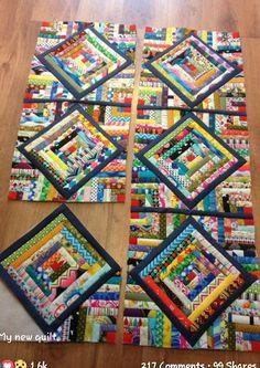scrappy string quilt 2019 scrappy string quilt The post scrappy string quilt 2019 appeared first on Quilt Decor. Colchas Quilting, Scrappy Quilt Patterns, Scrappy Quilts, Mini Quilts, Crazy Quilting, Quilting Templates, Quilting Ideas, Patch Quilt, Quilt Blocks